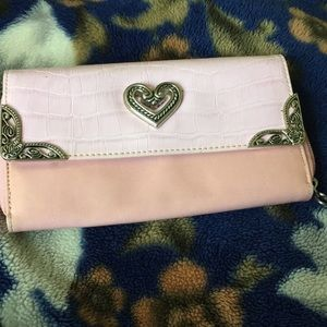 Pink wallet (not a brand name)!